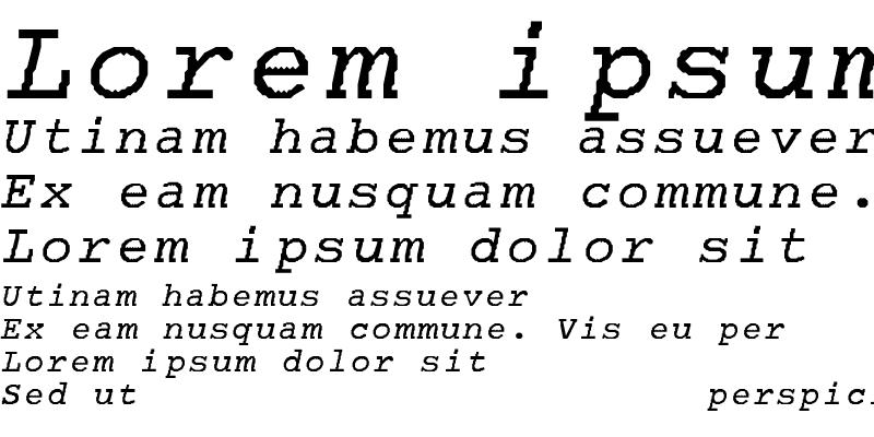 Sample of Bon-Normal