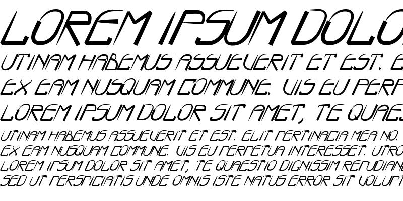 Sample of BOO:) Bold Italic
