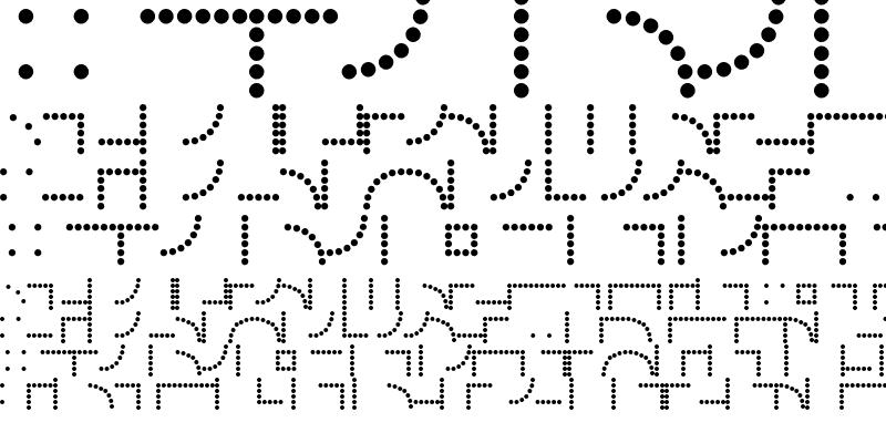 Sample of Borders Dot Rule