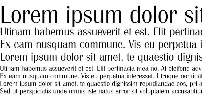 Sample of Britannic Medium