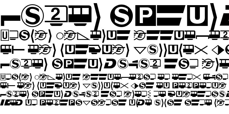 Sample of Bundesbahn Pi
