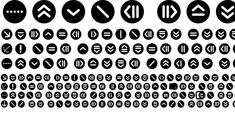 Sample of ButtonBonus CircleNegative
