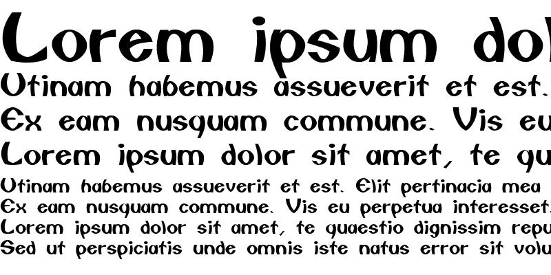 Sample of CAILIN Regular