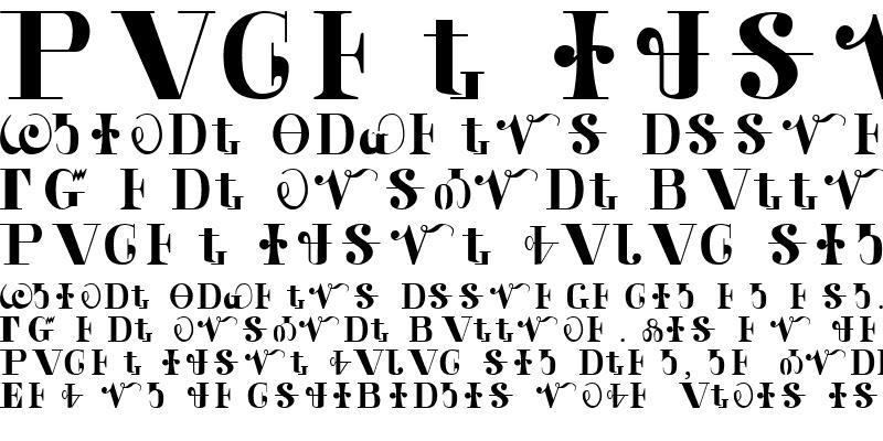 Sample of CALDWELL Regular