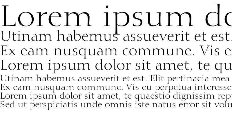 Sample of Calligraphic 810