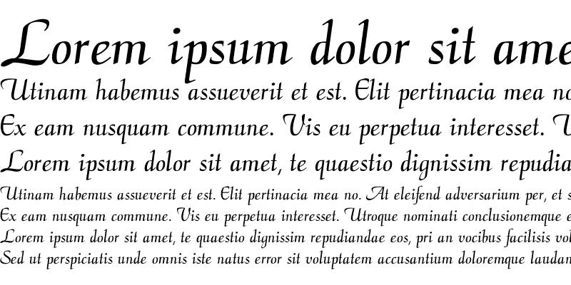 Sample of CalligraphyFLF