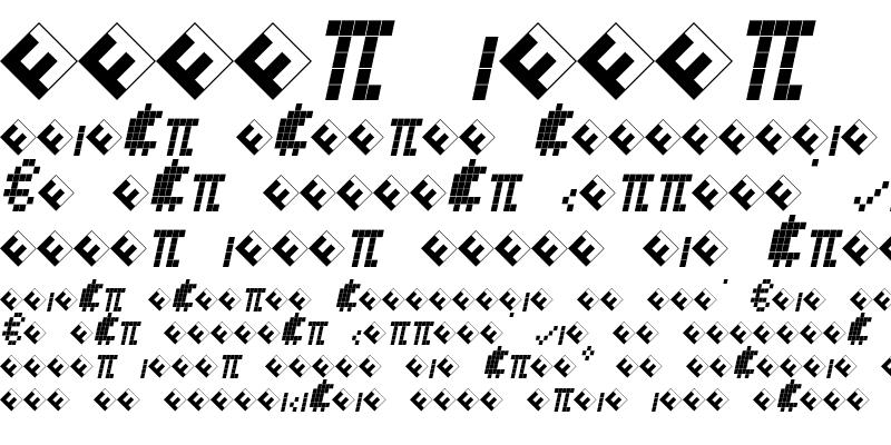 Sample of CallSeven-ItalicExp Regular