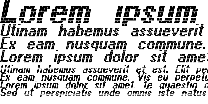 Sample of CallThree-Italic