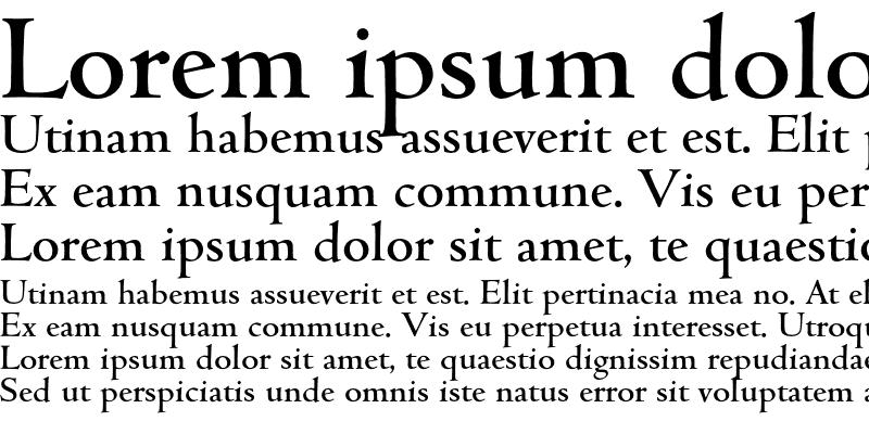 Sample of Cambridge-Medium