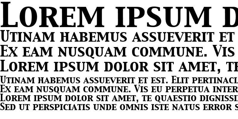 Sample of Capitals