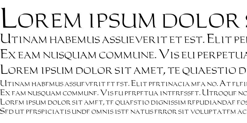 Sample of Carolus