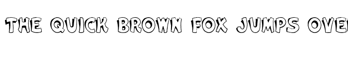 Preview of Cartoon Slant 4 Regular
