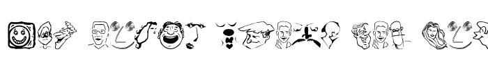 Preview of CartoonHeads Regular