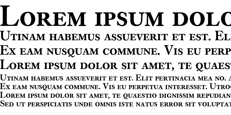 Sample of Caslon Buch Expert BQ Regular