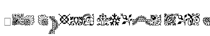 Preview of Caslon Ornaments SSi Ornaments