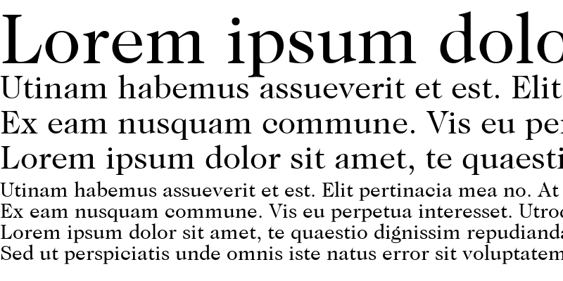 Sample of Caslon Two SSi