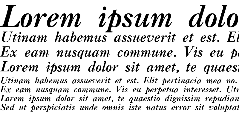 Sample of CASLONA