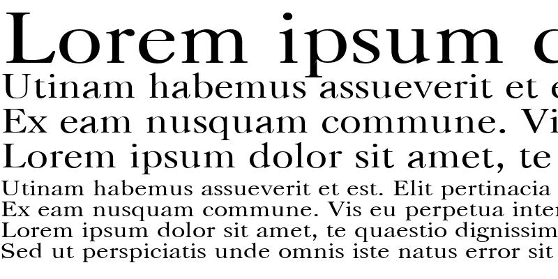 Sample of CaslonC