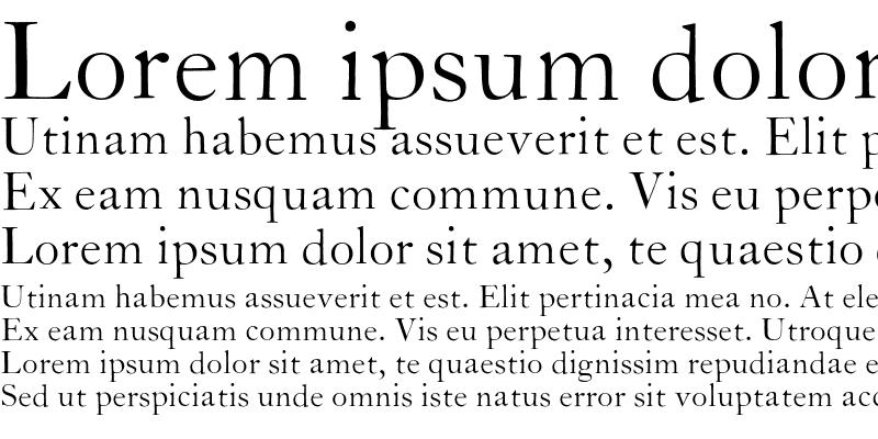 Sample of CaslonH