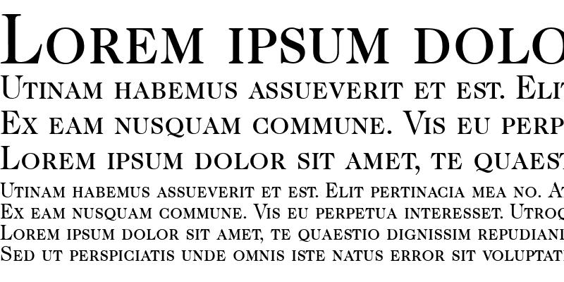 Sample of CaslonSmc