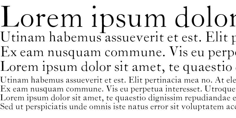 Sample of CaslonZL