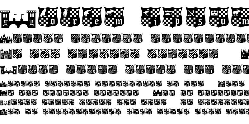 Sample of CastlesShields