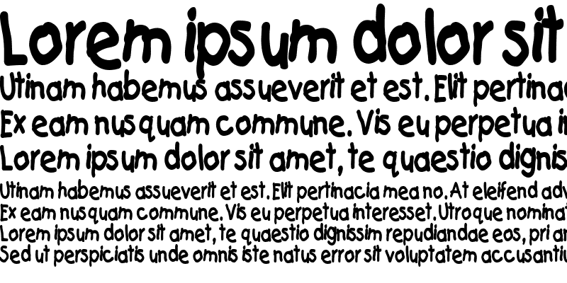 Sample of CatchupThin Bold
