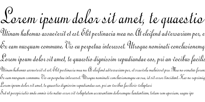 Sample of CathedralCondensed Italic