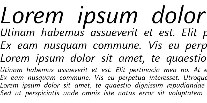 Sample of CelesteSans