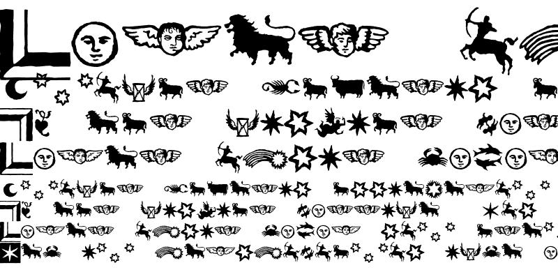 Sample of Celestia Antiqua Ornaments