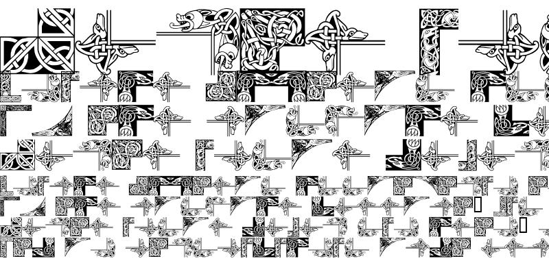 Sample of Celtic Frames Regular