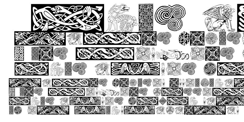 Sample of Celtic Patterns