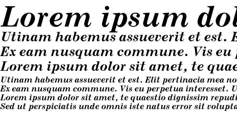 Sample of Century MT Std Bold Italic