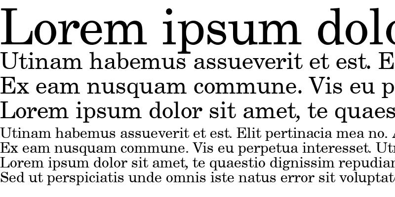 Sample of Century Schoolbook SSi