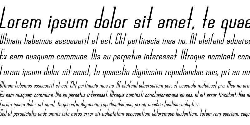 Sample of Chasline Bold Italic