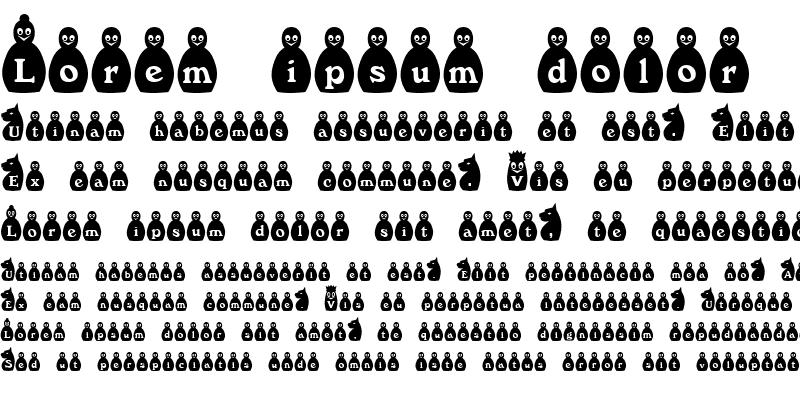 Sample of ChessBlack Becker Normal