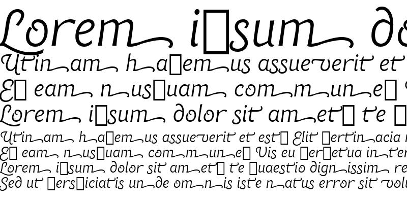 Sample of Chianti ItSwash BT Italic Swash