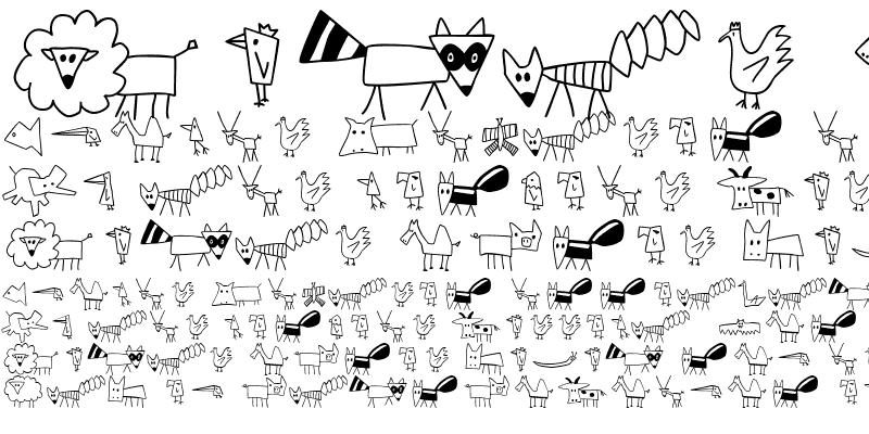 Sample of ChildsPlay Animals