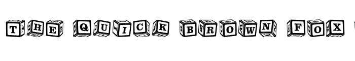Preview of ChildsPlay Blocks Regular