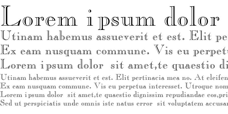 Sample of ChopinOpenFace Regular