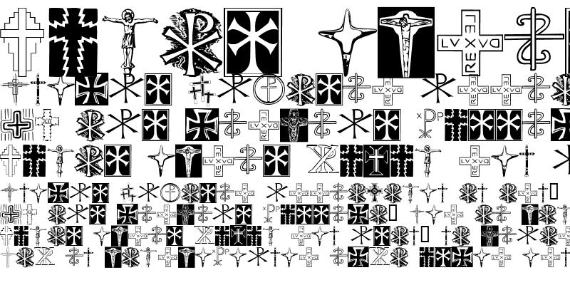 Sample of Christian Crosses II Regular