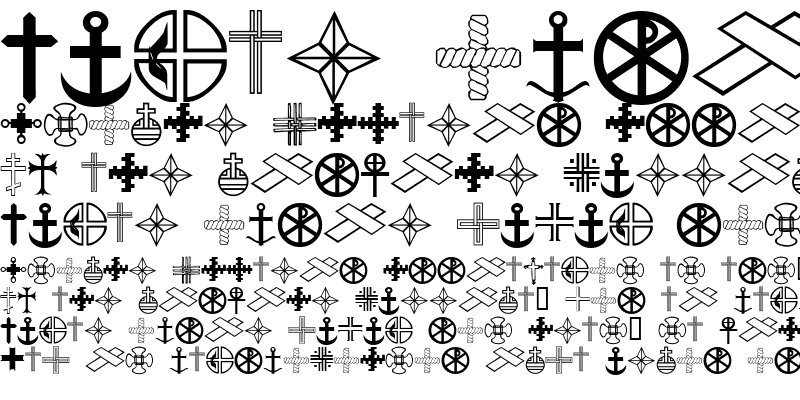 Sample of Christian Crosses III