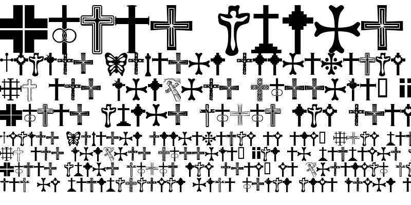 Sample of Christian Crosses