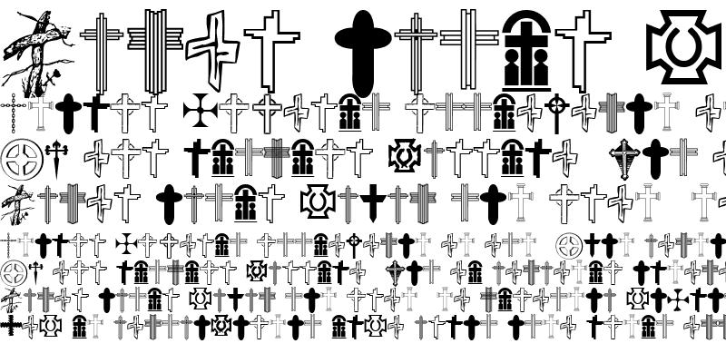 Sample of Christian Crosses V