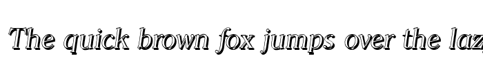 Preview of ChristianBeckerShadow-Light Italic