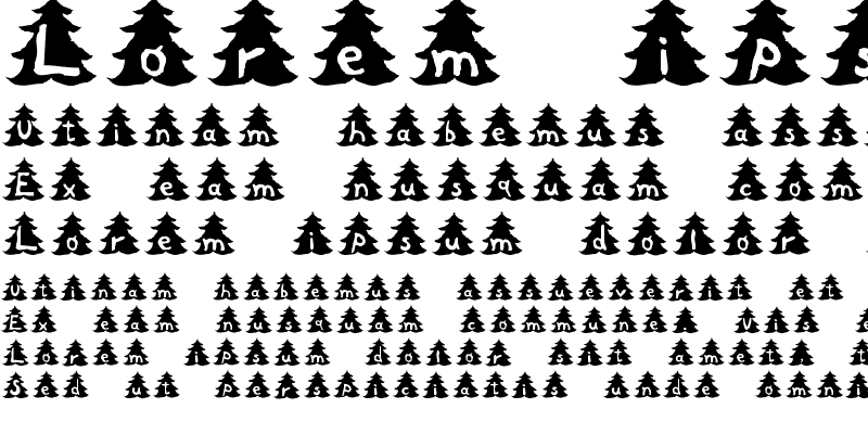 Sample of Christmas Tree