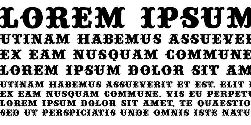 Sample of Circustime-Regular