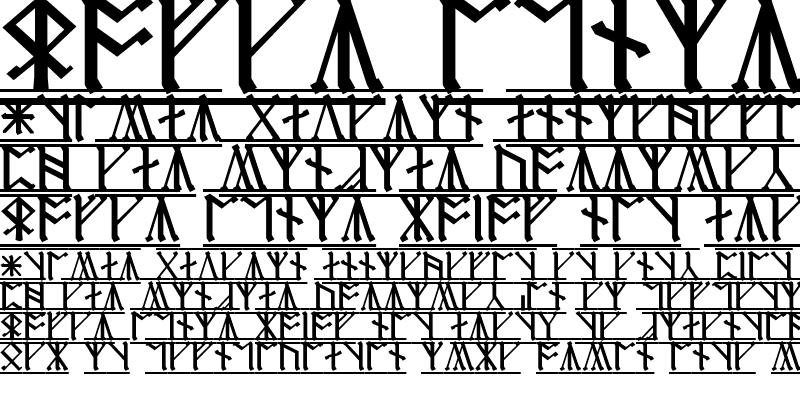 Sample of Cirth Erebor-1
