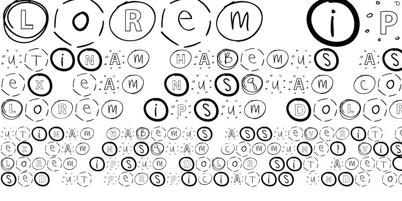 Sample of CK Ali Circles Regular