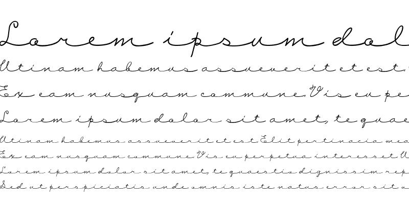 Sample of CK Love Note Regular